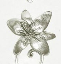 2 Set ASP 30x24mm Flower Toggle Clasp