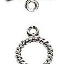 3 Set ASP 10mm Twisted Toggle Clasp