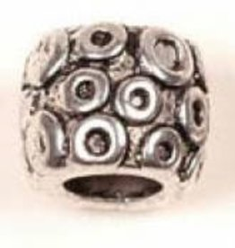 6 PC ASP 2x9mm Large Hole Design Bead