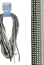 8 Meters 5mm Studded Faux Suede : Cools Mix