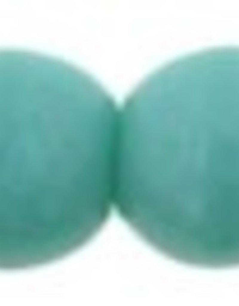 100 PC 4mm Round : Turquoise