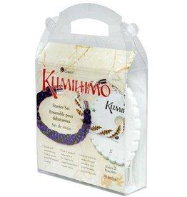 9 PC Kumihimo Round Starter Set- Makes 2 Bracelets