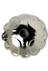 25 PC GMP 8mm Scalloped Bead Cap