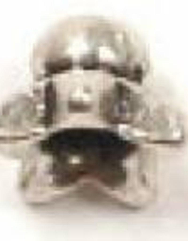 25 PC ASP 4x5mm Star Bead Cap