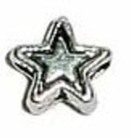 50 PC ASP 4mm Star Bead