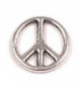 10 PC ASP 10mm Peace Sign Component