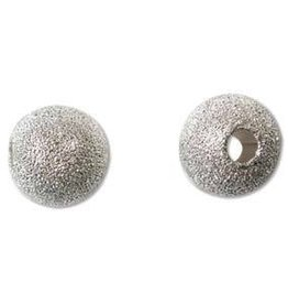 12 PC SP 10mm Stardust Round Bead