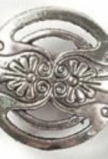1 PC ASP 17x7mm Floral Button