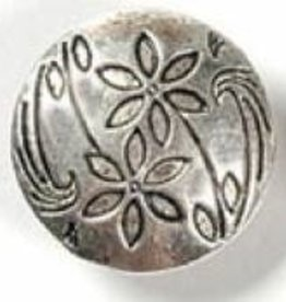 1 PC ASP 17x7mm 2 Flower Button