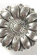 1 PC ASP 17x6mm Flower Button