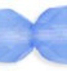 25 PC Firepolish 8mm : Milky Sapphire