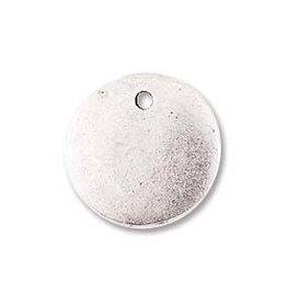 1 PC ASP 13mm Mini Circle Flat Tag