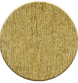 1 PC 24GA 25mm Brass Round Disc