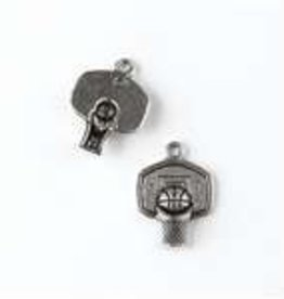 1 PC ASP 20x15mm Basketball Hoop Charm