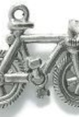 1 PC ASP 23x15mm Bicycle Charm