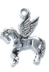 1 PC ASP 21x17mm Pegasus Charm