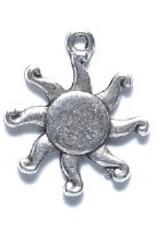 1 PC ASP 17mm Sun Beam Charm