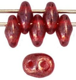 10 GM SuperDuo 2x5mm : Ruby Luster (APX 140 PCS)
