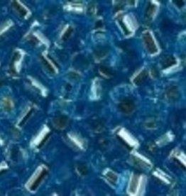 10 GM Toho 8/0 Hex : Silverlined Aqua