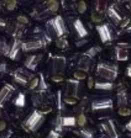 10 GM Toho 8/0 Hex : Silverlined Light Purple