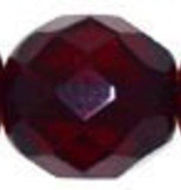 25 PC Firepolish 10mm : Ruby