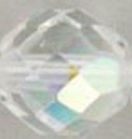 25 PC Firepolish 10mm : Crystal AB