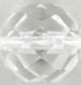 25 PC Firepolish 12mm : Crystal