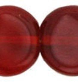 25 PC 8x3mm Dime : Siam Ruby