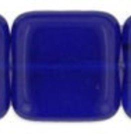 25 PC 9mm Flat Square : Cobalt