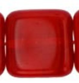 25 PC 9mm Flat Square : Siam Ruby