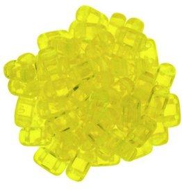 50 PC 3x6mm 2 Hole Bricks : Lemon