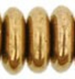 50 PC 6mm Rondell : Bronze
