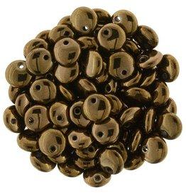 50 PC 6mm Lentil : Dark Bronze