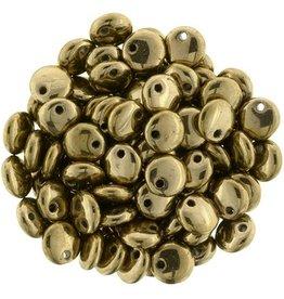 50 PC 6mm Lentil : Bronze