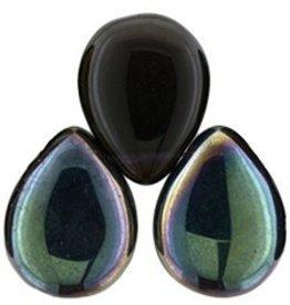 25 PC 12x16mm Pear Drops : Tanzanite Celsian