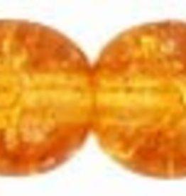 25 PC 6mm Round : Topaz Crackle