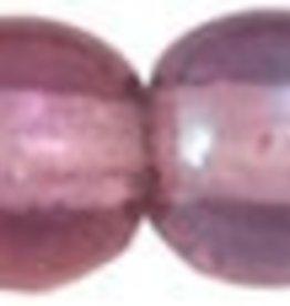 50 PC 4mm Round : Amethyst Luster Iris