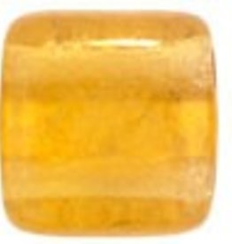 50 PC 6mm 2 Hole Tile : Topaz Luster Iris