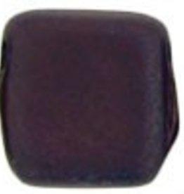 50 PC 6mm 2 Hole Tile : Matte Navy Vega