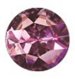 1 PC 27mm Swarovski Rivoli : Light Rose Foil Back