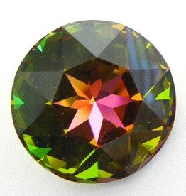 1 PC 27mm Swarovski Rivoli : Medium Vitrail Foil Back