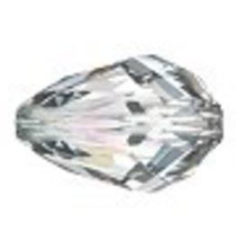 2 PC 9x6mm Swarovski Pear Teardrop : Crystal