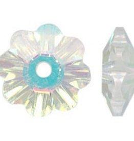 12 PC 6mm Swarovski Marguerite : Crystal AB