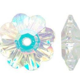 12 PC 8mm Swarovski Marguerite : Crystal AB