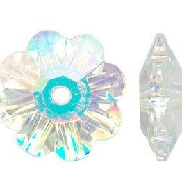 6 PC 10mm Swarovski Marguerite : Crystal AB