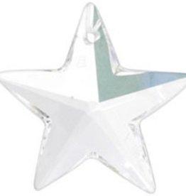 1 PC 20mm Swarovski Star (6714) : Crystal