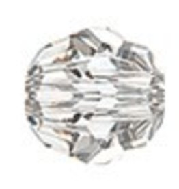 1 PC 14mm Swarovski Faceted Round : Crystal