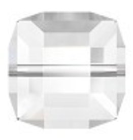 1 PC 10mm Swarovski Cube : Crystal