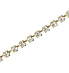 1 Meter 4mm GP-Crystal Rhinestone Chain