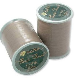 100 Meter Size B Natural SoNo Beading Thread 330DTEX